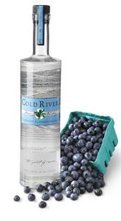 Cold River Vodka Blueberry 750ml